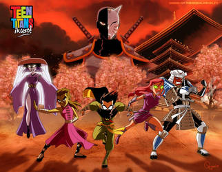 - Teen Titans: ikuzo - by sergio-quijada