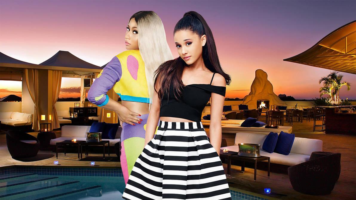 Ariana Grande And Nicki Minaj Wallpaper Hd By Maarcopngs On Deviantart