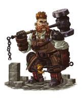 Iron Dwarf by mscorley