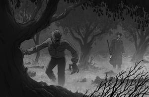 Carnacki and The Wolf Man by mscorley