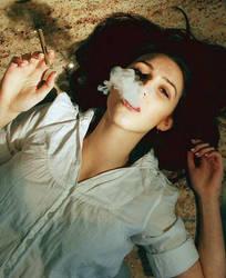elegant smoking by closeinminds