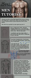How to Draw Men Tutorial by feavre