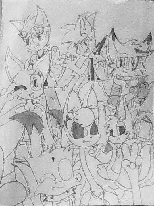 group photo by Galactic-Stars1