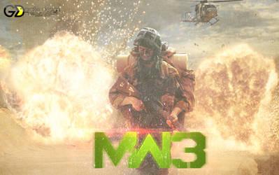 Call Of Duty: MW3 by dekadentfuture
