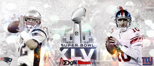 Superbowl XLVI - 2012 by dekadentfuture
