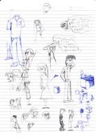 Garden Of Thorns Sketch 1 by nurmuzdalifah