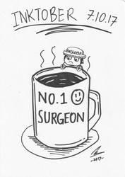 Inktober 7.10.17 - No.1 Surgeon by nurmuzdalifah