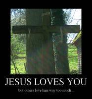Jesus loves you by xXLukiraXx