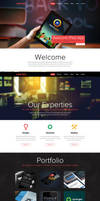 One Page Portfolio Website FOR SALE by Nas-wd