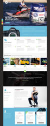 Visual One Page Design by Nas-wd