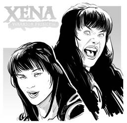 Xena faces by uger