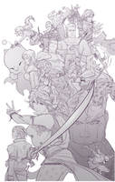 Final fantasy VI by uger