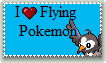 Flying Type Pokemon Stamp by Piplup-Luv