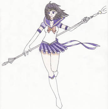 Sailorsaturn by Mandyrobin