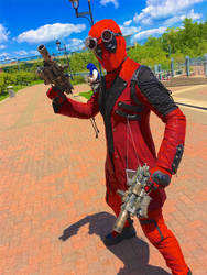 Steampunk Deadpool by CavalierCory