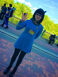 Female Spock by CavalierCory