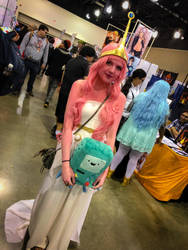 Princess Bubblegum Cosplay by CavalierCory