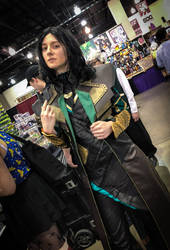 Loki Cosplay by CavalierCory