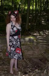 Barefoot in a Sun Dress by MorbidKittyCorpse