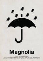 Magnolia pictogram poster by viktorhertz