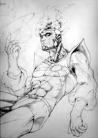 Firestorm :: pencil by DiMaio