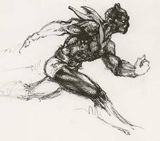 Black Panther Sprint by DiMaio