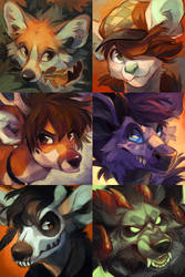 Icon commissions by Jeniak