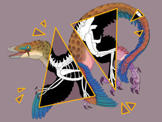 Velociraptor by mechanicalmasochist