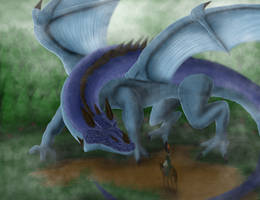 Dragon In The Mist by Nekot-The-Brave