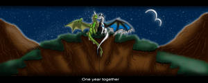 One year together by Ysulyan