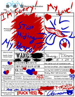 My Love is Like a Monster | Marriage Form Meme by SCP-7007