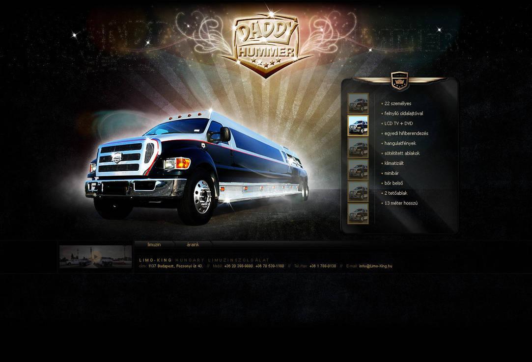 Hummer Daddy website by VictoryDesign
