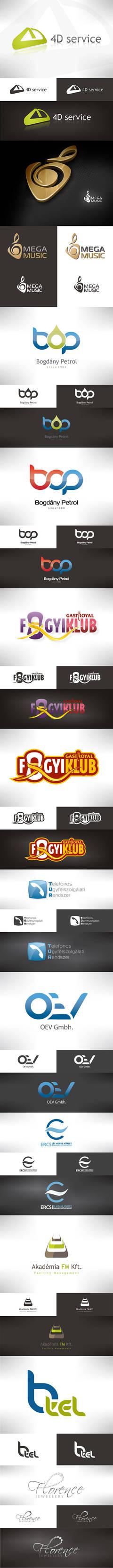 Best of my logo designs by VictoryDesign