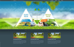 Web design - Irrigation by VictoryDesign