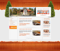 Guesthouse - web interface by VictoryDesign