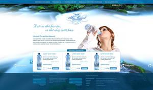 Albamineral weboldal terv by VictoryDesign