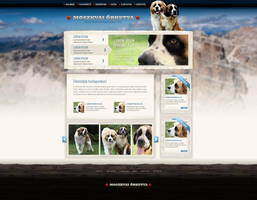 Web design: Kennel by VictoryDesign