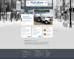 Web Design: Paul's Service by VictoryDesign