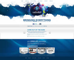 Web Design: Webolize by VictoryDesign