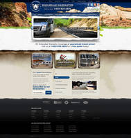 Web Design: Wholesale Warranties by VictoryDesign