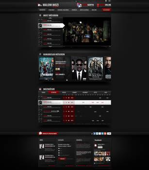 Web Design: Cinema by VictoryDesign