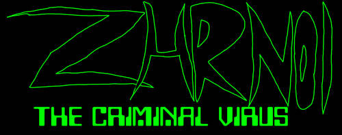 ZHRN01:The criminal virus logo by ZHRN01Official