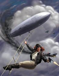 Zeppelin Girl by ChrisAppel