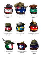 Polandball - WWI uniforms by KaliningradGeneral