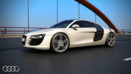 Audi R8 Render 2 by viewjz