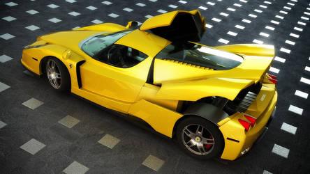 yellow Enzo by viewjz
