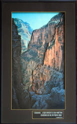 Shadow Box of The Grand Canyon by DouglasHumphries