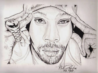 RZA Wu-Tang Clan by The-Art-Kid