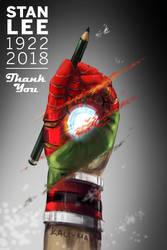 A Thank You to Stan Lee by Kali-Mav