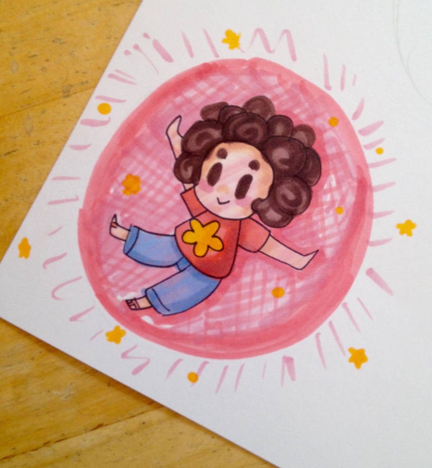 "I dub this style..... ""Derp Copic Chibis."" I set out to make a lovely copic illustration and this is what happened.  Other SU fanart:"